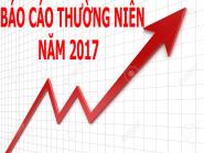 BÁO CÁO THƯỜNG NIÊN NĂM 2017